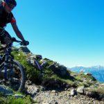 Nur mit Selbstvertrauen gelingt eine schwierige Mountainbiketour